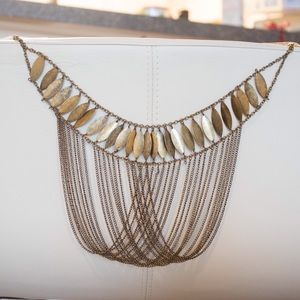 Draped necklace from Claire's